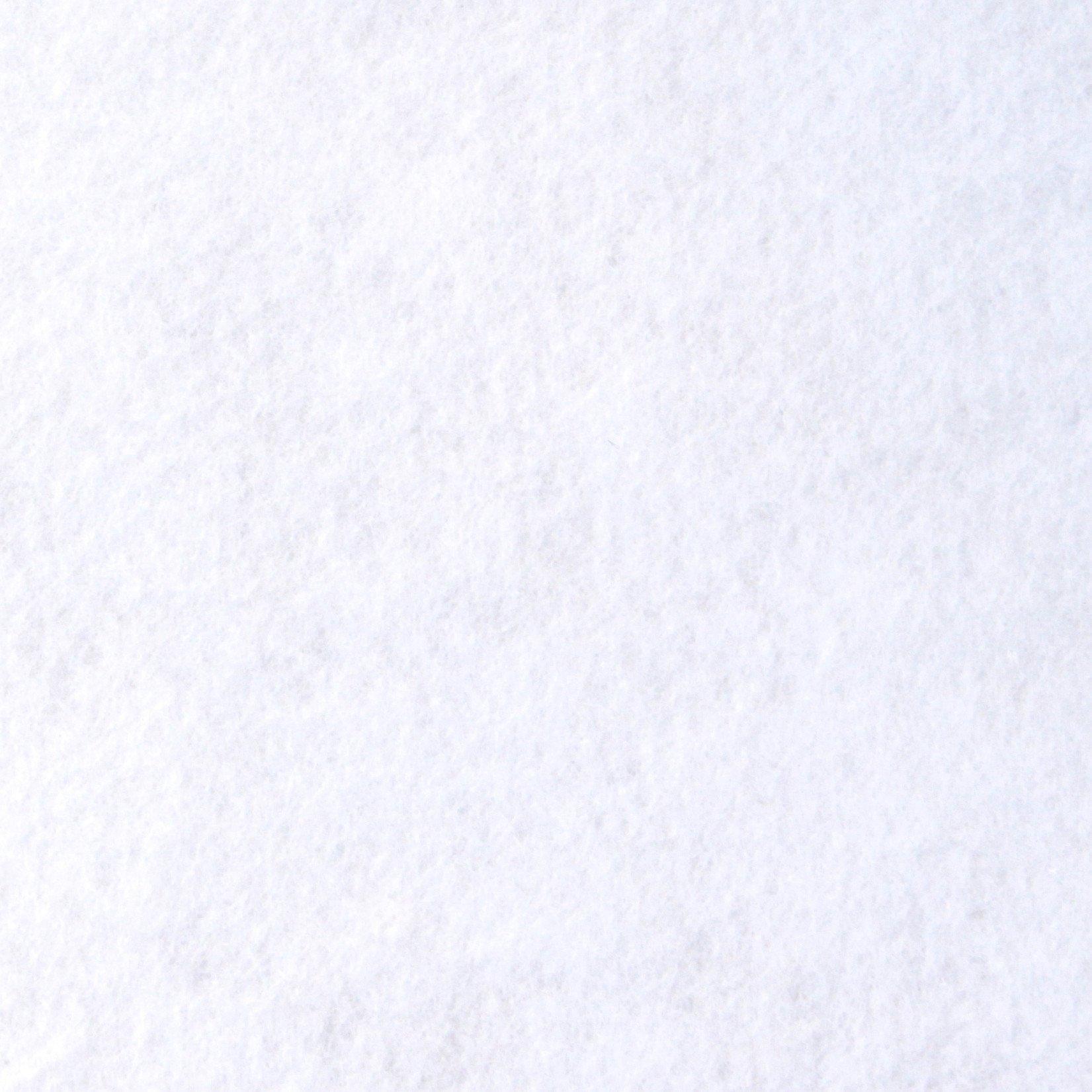 white-felt-background